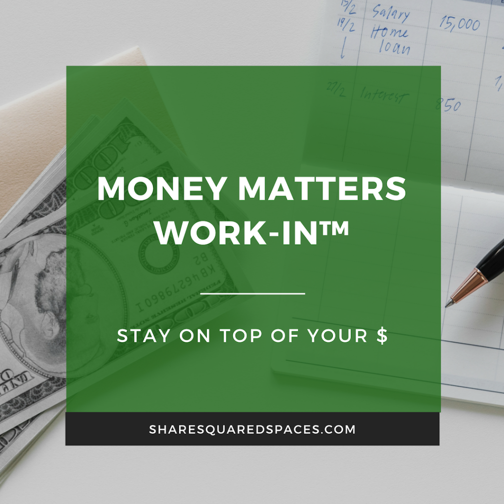 Image of the money matters work-in™